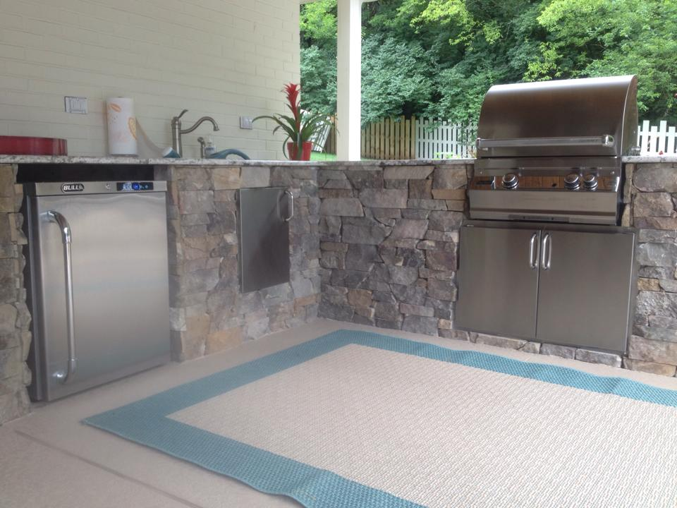 outdoor kitchen appliances packages amazing outdoor kitchen projects kitchens harpeth valley hardscapes brentwood