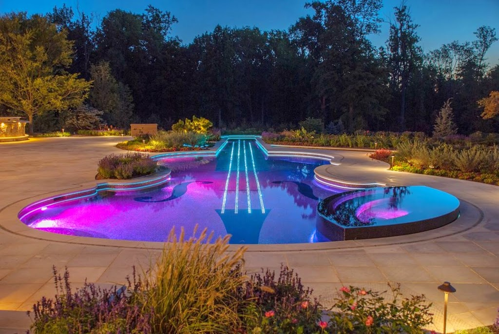Custom in-ground Swimming Pool