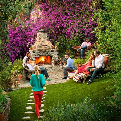 dinner-with-friends-echo-park-outdoor-firepit-atmosphere