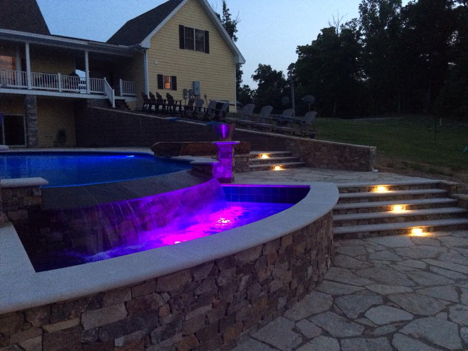 Pool and Hardscape walk