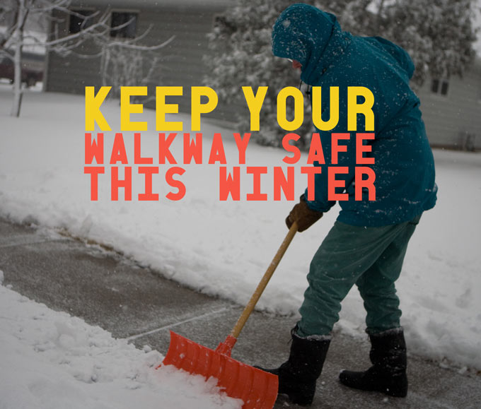 keep your walkway safe