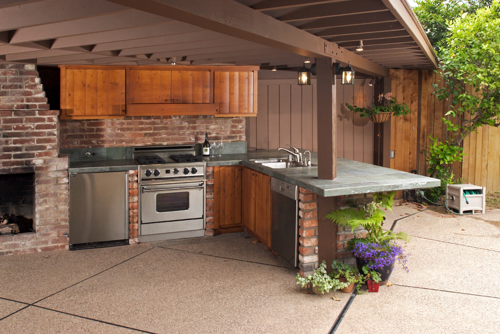 A Nashville Outdoor Kitchen
