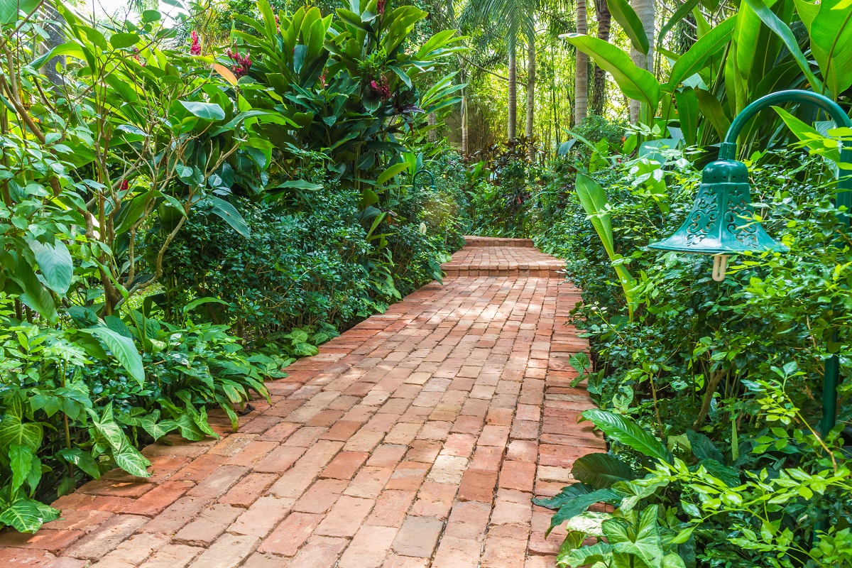 brick walkways